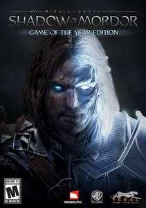 Middle Earth Shadow of Mordor - édition GOTY sur PC (Dématérialisé)