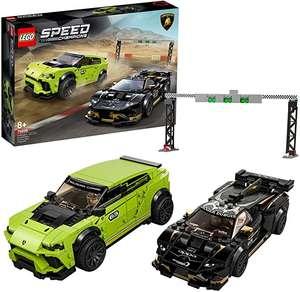 Sélection de jeux de construction Lego en promotion - Ex: Speed Champions Lamborghini Urus ST-X & Huracán Super Trofeo Evo Racing 76899