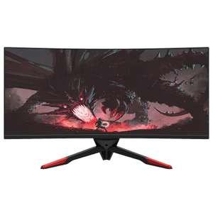 """12% de réduction sur tous les écrans Fox Spirit et sur les bras & pieds pour écrans - Ex : Écran PC 34"""" PGM340 V2"""