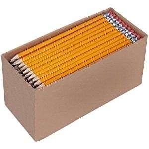 Boîte de 150 crayons à papier prétaillés Amazon Basics - HB n°2