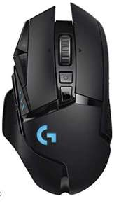 Souris PC sans-fil Logitech G502 Lightspeed - capteur gaming Hero 25K, 25 600 PPP, RGB, 11 boutons programmables, noir