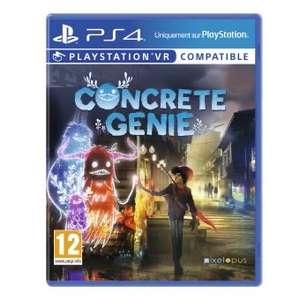 Concrete Genie sur PS4 (compatible VR)
