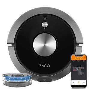 Robot aspirateur Laveur A9sPro Zaco (D'occasion - Très bon)