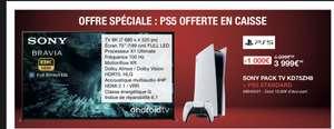 """[Carte Costco] TV 75"""" Sony Bravia - 8K, 100hz, HDMI 2.1 + Console Sony PS5 Standard - Villebon sur Yvette (91)"""
