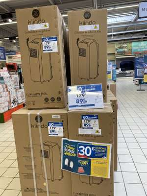 Climatiseur mobile Klindo KMAC9KG-20 (via 89.50€ sur la carte fidélité) - Mâcon (71)