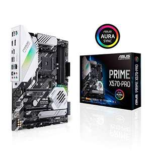 Carte Mère Asus Prime X570-PRO Socket AM4 - ATX, PCIe 4.0, DDR4, USB 3.2, Aura Sync (Reconditionné - Comme neuf)
