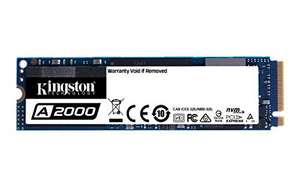 SSD interne M.2 NVMe Kingston A2000 (TLC 3D, DRAM) - 1 To