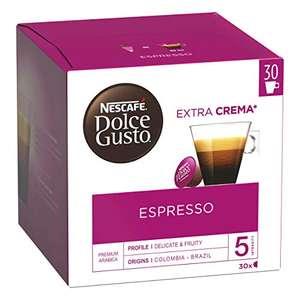 3 Boites de 30 Capsules de café Nescafé Dolce gusto Espresso