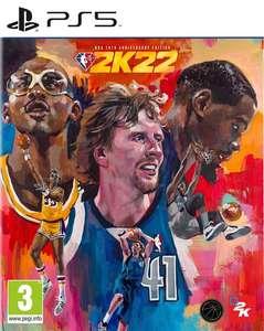 [Pré-commande] NBA 2K22 - Édition 75ème Anniversaire sur PS5