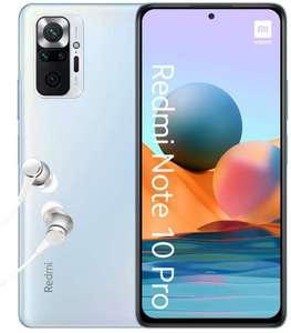 "Smartphone 6.67"" Xiaomi Redmi Note 10 Pro - Full HD+, AMOLED 120 Hz, Snapdragon 732G, 6 Go RAM, 128 Go (Plusieurs coloris)"