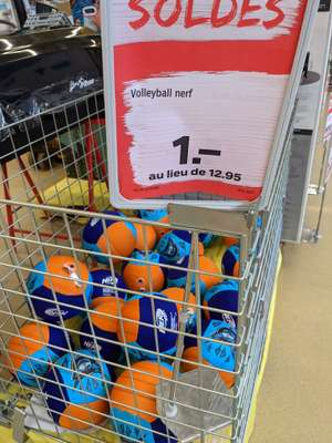 Ballon Volley Nerf Sports - Coop Porrentruy (Frontaliers Suisse)