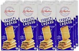 Lot de 12 paquets de biscuits Les Malices Crousti Chokko - 12x225 g (DDM 16/09)