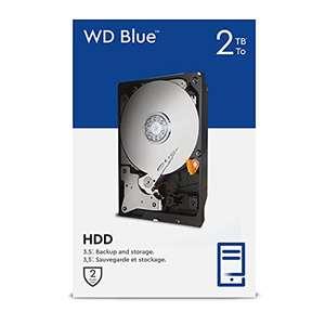 "Disque Dur 3.5"" WD Blue 2 To (Reconditionné - Comme neuf)"