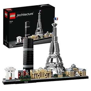 Jeu de construction Lego Architecture - Paris avec Tour Eiffel et Louvre (21044)