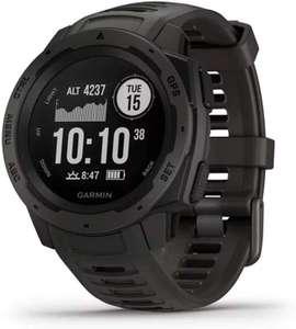 Montre connectée GPS Garmin Instinct - Noir
