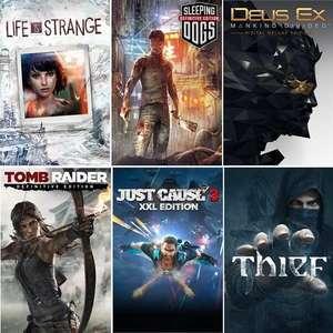Sélection de Jeux Square Enix en promotion sur PC - Ex: Deus Ex: Mankind Divided - Deluxe Edition (Dématérialisé - Steam)