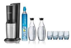 Machine à gazéifier SodaStream Crystal - Pack STAR