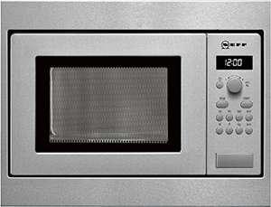 Micro-ondes en acier inoxydable Neff HW5350N – 800 W (Occasion - Acceptable)