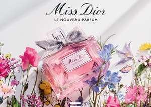 Échantillon de parfum gratuit Dior Miss Dior pour Femme