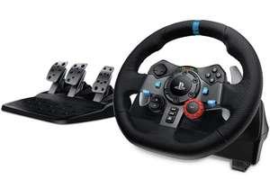 Pack volant + pédalier Logitech G29 Driving Force pour PS5, PS4, PC, Mac (via coupon)