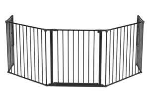 Barrière de sécurité multifonction BabyDan Flex XL - Noir