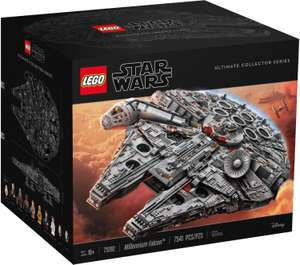 25% de réduction supplémentaires dès 3 jouets Lego - Ex: Lego Star Wars Millennium Falcon 75192 (+ 2 packs Lego Super Mario Série 3 71394)