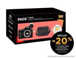 Pack Appareil photo reflex Canon EOS 90D (Boitier Nu) + Sacoche