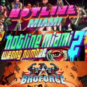 Sélection de jeux Devolver en promotion sur PC (Dématérialisés) - Ex: Hotline Miami 1 & 2 + Broforce pour 4.47€