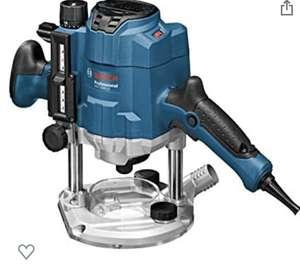 Défonceuse filaire Bosch Professional GOF 1250 CE (1250 W, régime à vide: 10 000-24000 tr/min, pack d'accessoires, coffret)