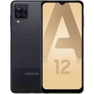 "Smartphone 6.5"" Samsung Galaxy A12 - 64 Go, Noir"
