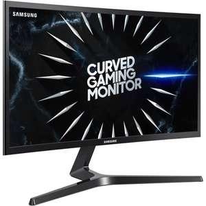 """Écran PC gaming 24"""" Samsung C24RG50FQR - Full HD, 144 Hz, Dalle VA, Incurvé, 4 ms, Freesync Premium"""