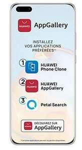 """Smartphone 6.58"""" Huawei P40 Pro - 256 Go (sans services Google)"""