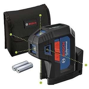 Laser 5 points Bosch Professional GPL 5 G (0601066P00) - portée 30 m, IP65, laser vert, avec housse de protection