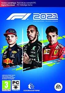 F1 2021 sur PC (Dématérialisé)