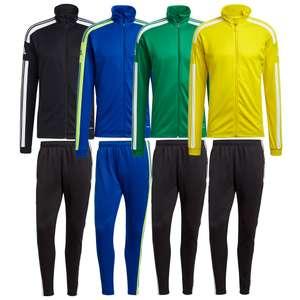 Ensemble sportif adidas Squadra 21 pour Homme (Veste + Pantalon) - Coloris au choix, Tailles S à XXL