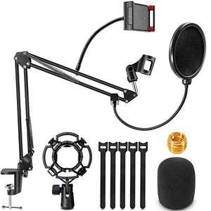 Support de Microphone RenFox + Accessoires (Via Coupon - Vendeur Tiers)