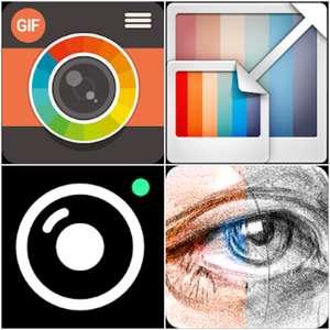 Sélection d'applications de retouche photo gratuites sur Android - Ex: Sketch Me! Pro