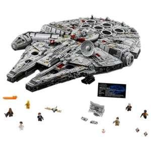 Jouet Lego Star Wars - Millennium Falcon (75192) + pin's clé aléatoire Disney Store Collector