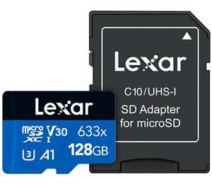Carte mémoire microSDXC Lexar High-Performance 633x - 128Go