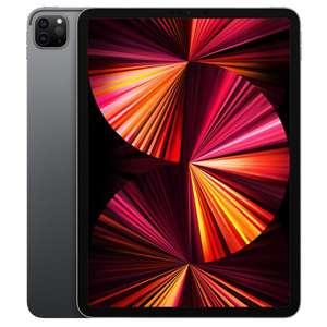 """Tablette 11"""" Apple iPad Pro (2021) WiFi - Puce M1, RAM 8 Go, 128 Go, Gris ou Argent (+ Jusqu'à 149€ offerts en Rakuten Points)"""