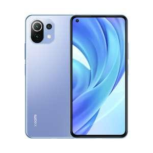 "Smartphone 6.55"" Xiaomi Mi 11 5G (Écran 6,81"" WQHD+, SnapDragon 888, 8 Go de RAM, 128 Go, Horizon Blue) - reconditionné Très Bon"