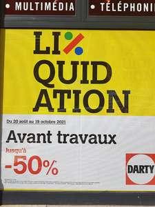 Liquidation avant travaux (Rouen Rive Droite 76)