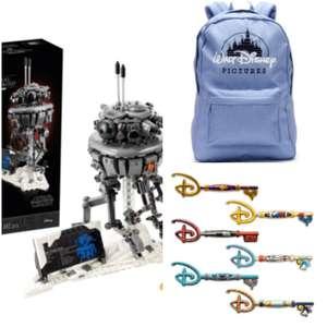 Jouet Lego Star Wars Droïde sonde Imperial 75306 + Sac Walt Disney pictures + Clé disney collector
