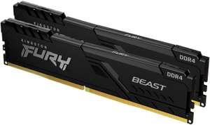 Kit de RAM Kingston FURY Beast Dual-Kit DDR4-3200 CL16 - 16 Go (2x8)