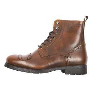 Chaussures Moto cuir Helstons Travel Tan pour Homme - Tailles 40 à 46