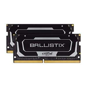 Kit Mémoire Crucial Ballistix BL2K8G26C16S4B 2666 MHz DDR4 - 16Go (8Go x2), CL16, SODIMM