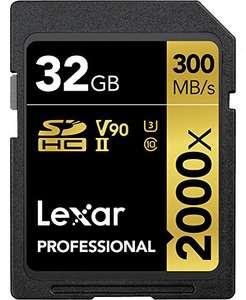 Carte Mémoire SDXC Lexar Professional 2000x - 32 Go