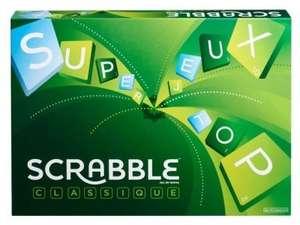 Jeu de société Mattel Scrabble Classique (Version Française)