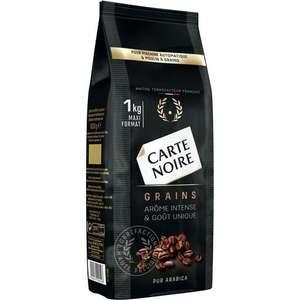 Paquet de Café Carte Noire Grains Classique - 1Kg (Via retrait Drive)