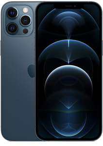 "Smartphone 6.7"" Apple iPhone 12 Pro Max - 128 Go, bleu pacifique (Via Coupon)"